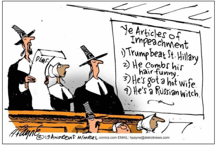 Articles of Impeachment-Puritans