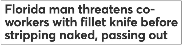 Floriduh man-filet knife