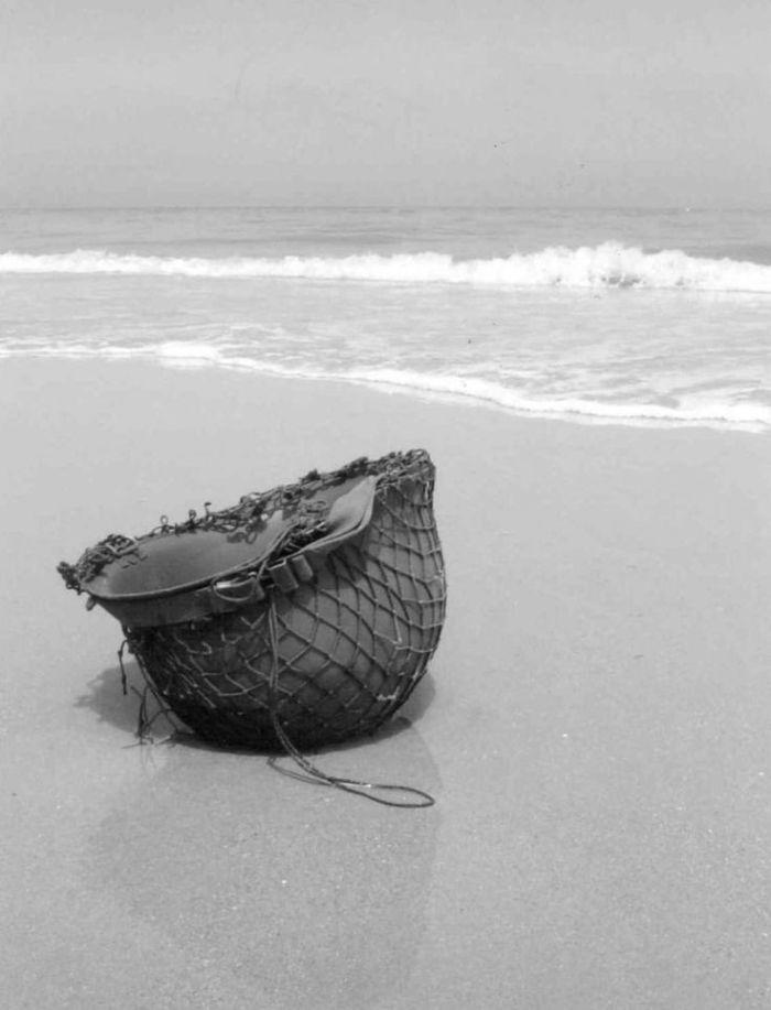 Omaha Beach - helmet