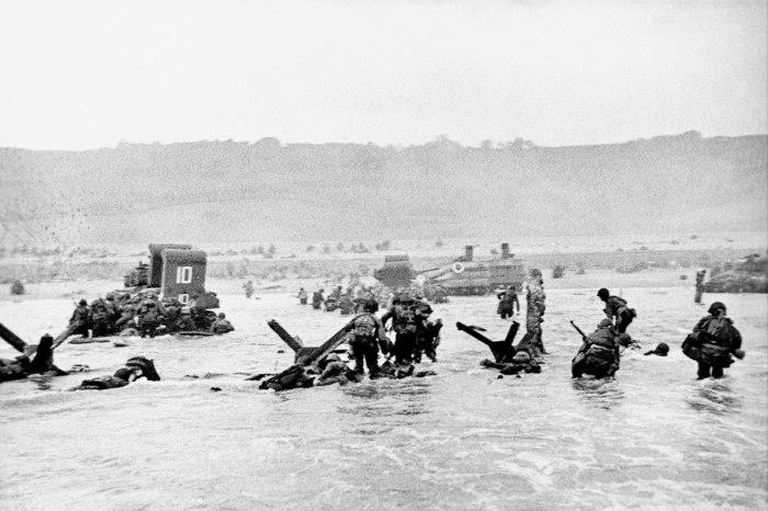 Omaha beach-landing