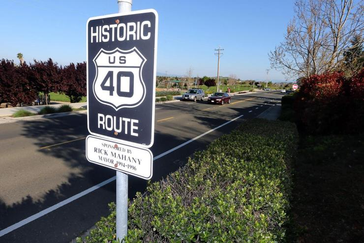 Route 40-Napa County