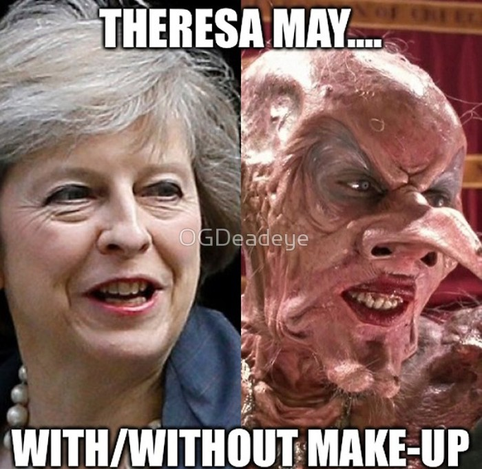 Theresa May Separated at Birth
