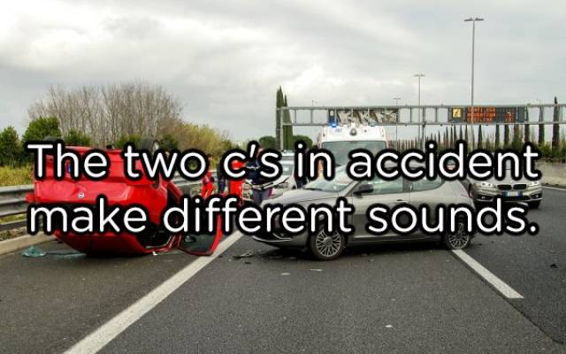 2 Cs in Accident