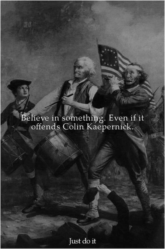 4th Believe-Offend Kaepernick