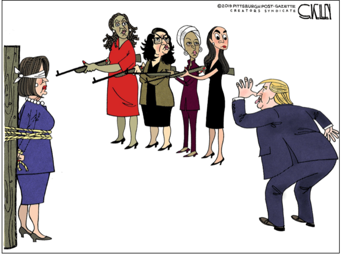 AOC-Nancy P.Lousy-Trump