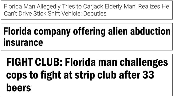 Floriduh news