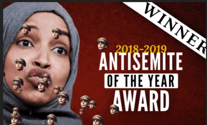 Ilhan Omar-Antisemite of the Year