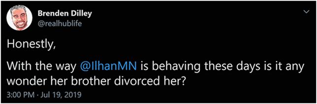 Ilhan's Divorce