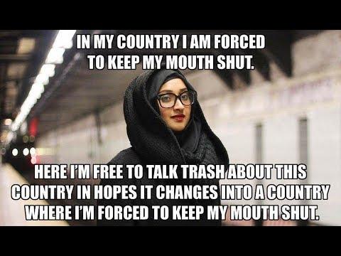 Islamist woman