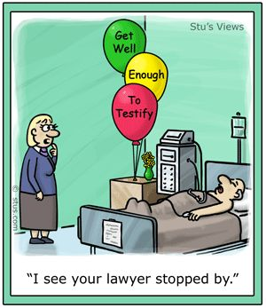 Lawyer Joke-Testify