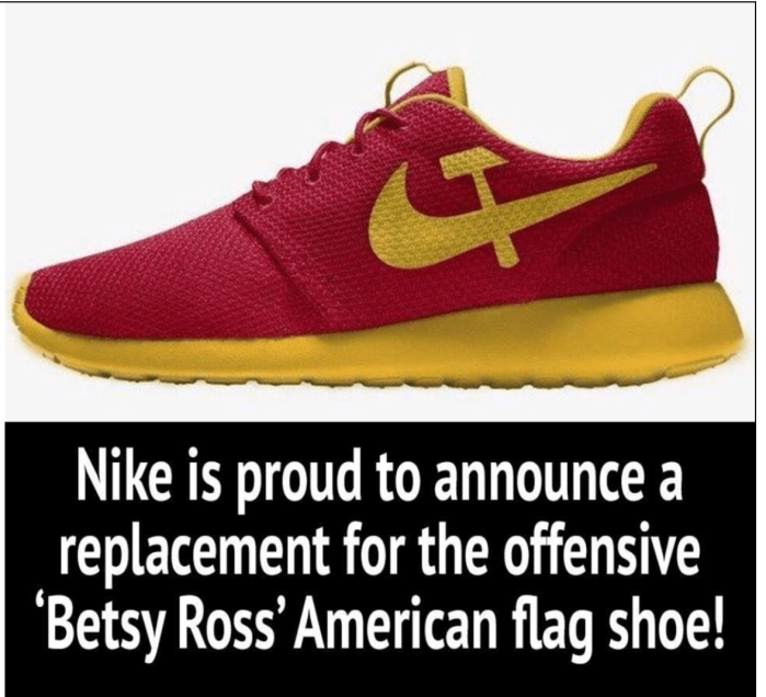 Nike-Betsy Ross Replacement