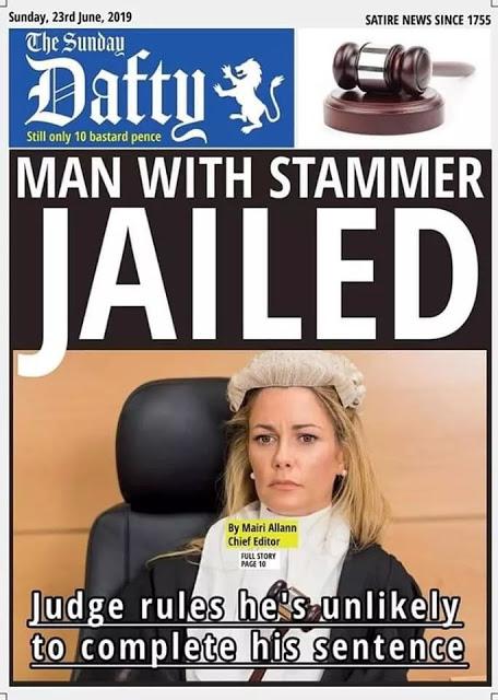 Stammer-sentence