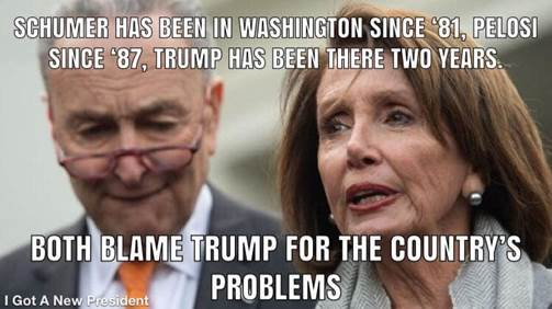 Trump-Schmuck-Nancy P. Lousy