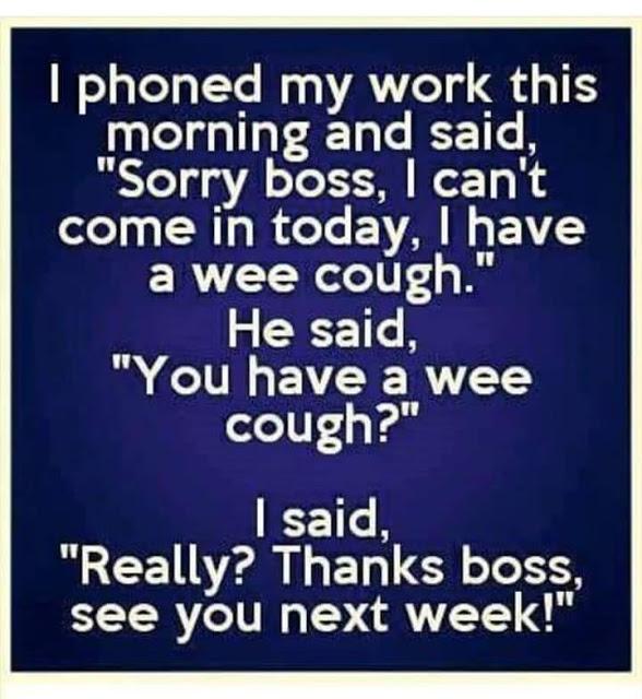 Wee cough