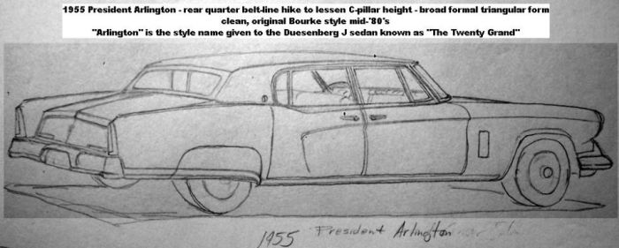 '55 President prefected sketch