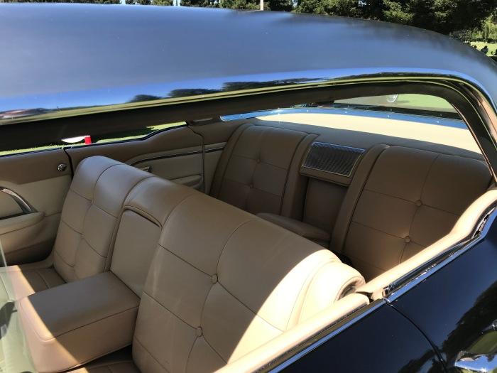 '57 Cadillac Eldorado Brougham interior