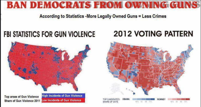 Ban Democrats from owning guns