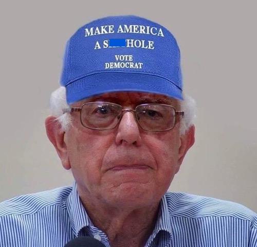 Bernie-Not MAGA