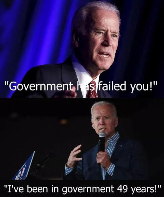 Biden-in gov 49 years