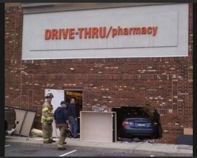 Drive-through pharmacy