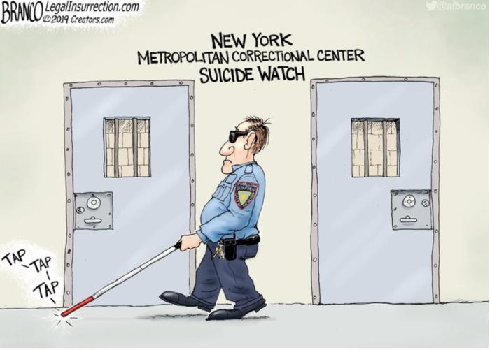 Epstein-blind-suicide-watch