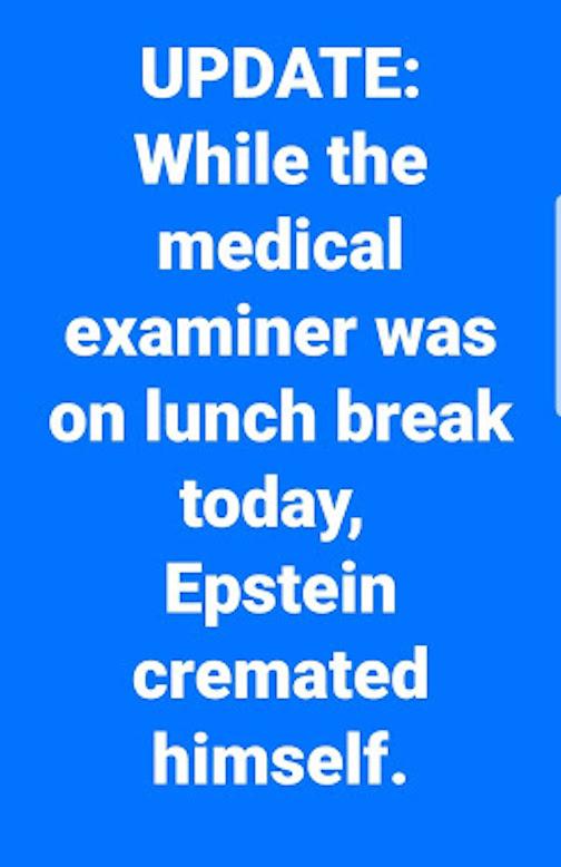 Epstein cremated