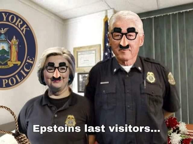 Epstein's last visitors