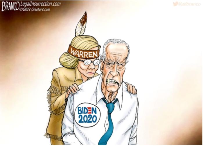 Fauxchahontas-Biden