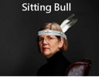 Fauxchahontas-Sitting Bull