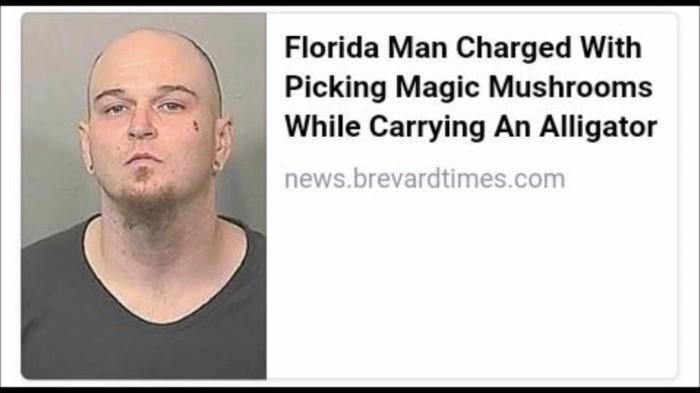 Floriduh Man-pickled magic mushrooms