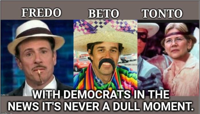 Fredo-Beto-Tonto