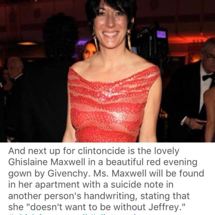 Ghislaine Maxwell-Epstein-Arkancide