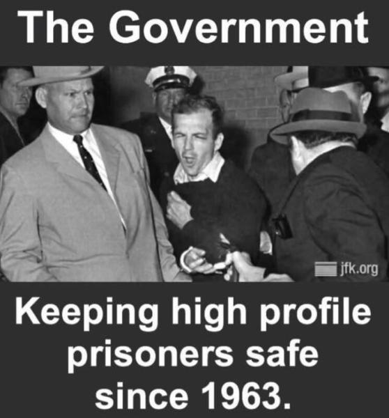 High profile prisoners