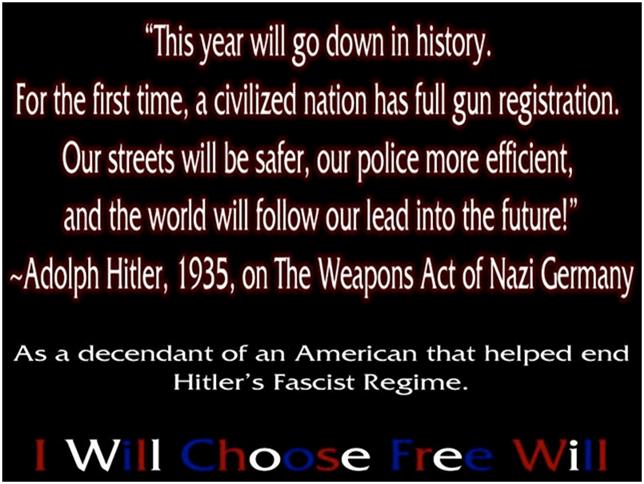 Hitler on gun control