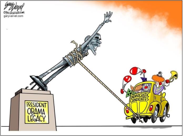 'Rats-pulling down Obama