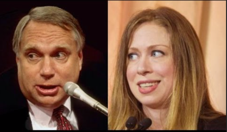Separated at Birth-Web Hubbell-Chelsea Clinton
