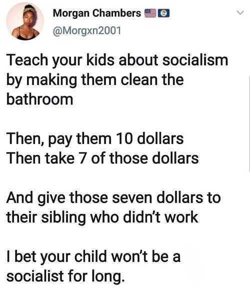 Socialism lesson