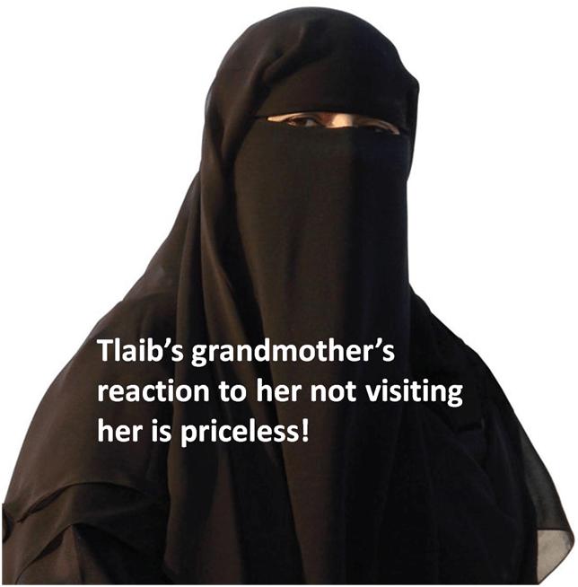 Tlaib's grandmother