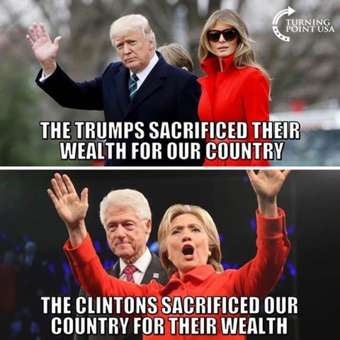 Trump vs. Clinton wealth