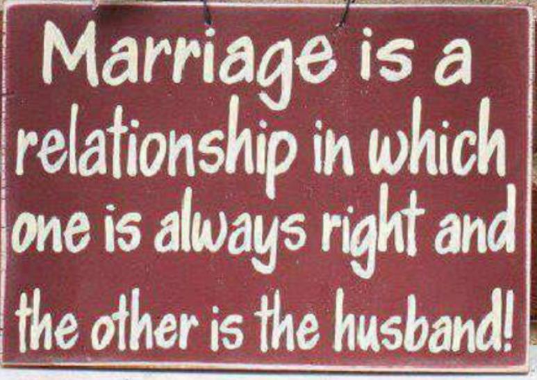 Wedded bliss - husband