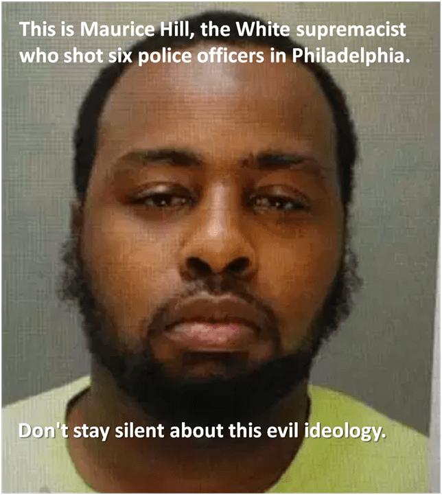 White supremacist cop killer