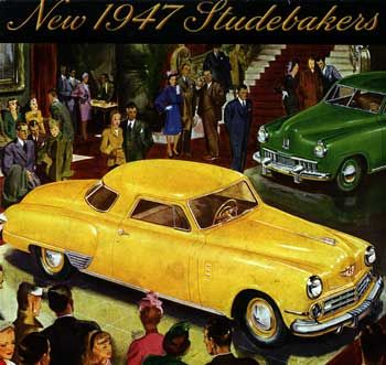 47 Studebaker Commander coupe ad