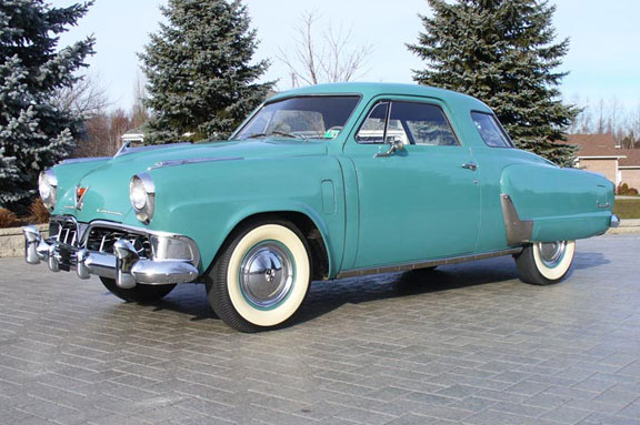 52 studebaker Commander Starlight lf