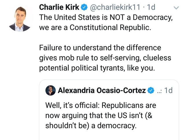 AOC-Constitutional ignorance