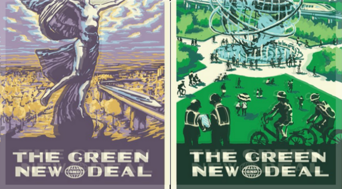 AOC-Green New Deal Posters