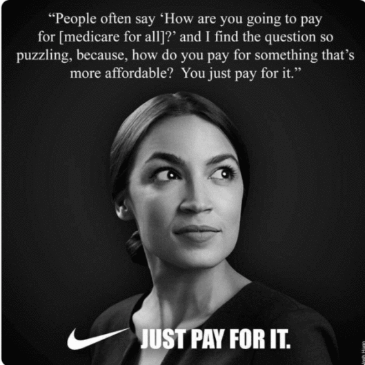 AOC-Just pay for it
