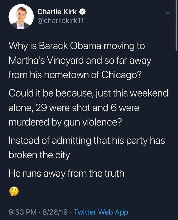 B. HUSSEIN-Martha's Vineyard vs. Chicago