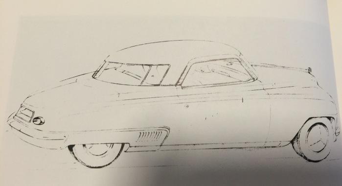 Bourke's 1941 Starlight sketch