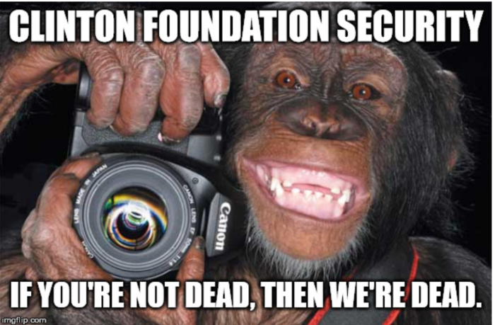 Clinton Foundation Security