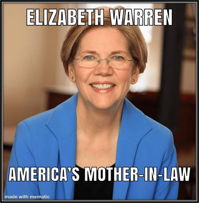 Fauxchahontas-America's mother-in-law